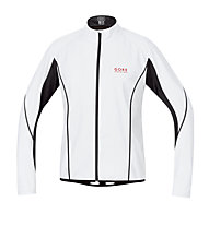 GORE RUNNING WEAR Magnitude WINDSTOPPER Active Shell giacca antivento, White/Black