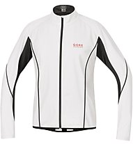 GORE RUNNING WEAR Magnitude WINDSTOPPER Active Shell - giacca running antivento - donna, White/Black