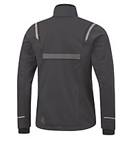 GORE RUNNING WEAR Mythos 2.0 GWS Windstopper Soft Shell Jacke, Graphite Grey