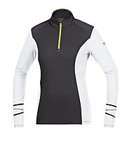 GORE RUNNING WEAR Mythos 2.0 Thermo Lady Shirt, Black/White