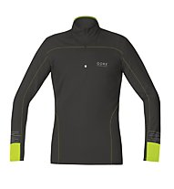 GORE RUNNING WEAR Mythos - Laufshirt Langarm - Herren, Black/Yellow