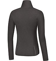 GORE RUNNING WEAR Sunlight Lady Thermo LS Laufshirt langarm Damen, Raven Brown