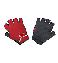 GORE WEAR C5 - Radhandschuhe Kurzfinger, Black/Red