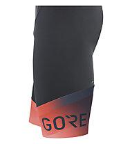 GORE WEAR Force Fade - pantaloni bici con bretelle - uomo, Black/Red