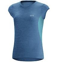 GORE WEAR R3 - maglia running - donna, Blue/Light Blue