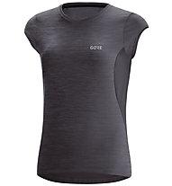 GORE WEAR R3 - maglia running - donna, Black