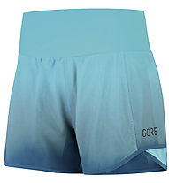 GORE WEAR R5 - pantaloni corti running - donna, Light Blue