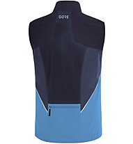 GORE WEAR R7 Partial GORE-TEX Infinium - gilet running - uomo, Dark Blue/Light Blue
