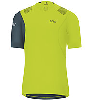 GORE WEAR R7 Shirt - maglia running - uomo, Green/Blue