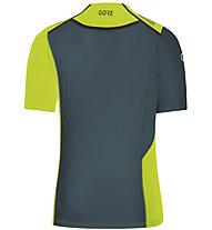 GORE WEAR R7 Shirt - Laufshirt - Herren, Green/Blue