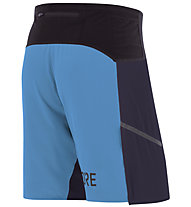 GORE WEAR R7 - pantaloncini running - uomo, Dark Blue/Light Blue