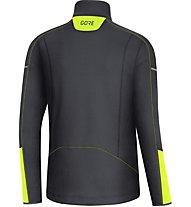 GORE WEAR Thermo Long Sleeve Zip - Laufshirt langarm - Herren, Black/Yellow