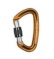 Grivel Alpha K1N Screw Gate - moschettone, Orange