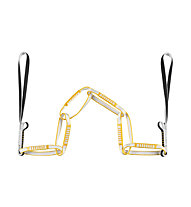 Grivel Belay Chain Evo - fettuccia, White/Yellow/Black