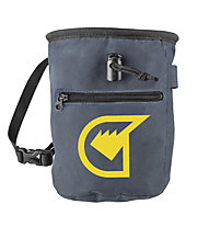 Grivel Chalk Bag Plus - Magnesiumbeutel, Grey/Yellow