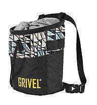 Grivel Chalk Bag Trend - sacca per magnesite, Black/White