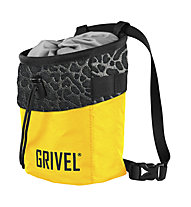Grivel Chalk Bag Trend - sacca per magnesite, Yellow/Black