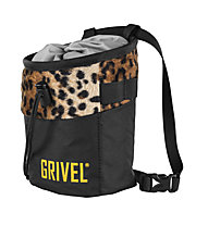 Grivel Chalk Bag Trend - sacca per magnesite, Black/Orange