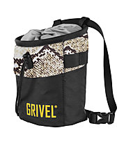 Grivel Chalk Bag Trend - sacca per magnesite, Black/Light Grey