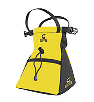 Grivel Chalk Bag Trend Boulder - sacca portamagnesite, Yellow/Black