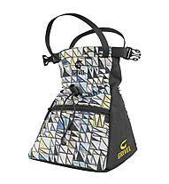 Grivel Chalk Bag Trend Boulder - Magnesiumbeutel, White/Black