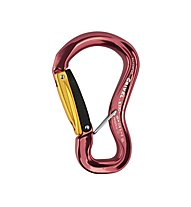 Grivel Clepsydra L Twin Gate - moschettone, Dark Red