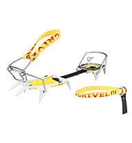 Grivel Ski Tour - Ski matic 2.0 - ramponi ghiaccio, Aluminium/Yellow