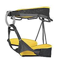 Grivel Trend Black - imbrago arrampicata, Black/Yellow