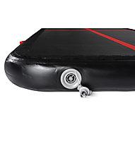 Gymstick Air Track - Gmynastikmatte, Black/Red