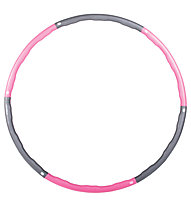 Gymstick Hula Hoop - Attrezzature per il fitness, Grey/Pink