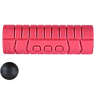 Gymstick Travelroller + Triggerball, Red