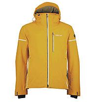 Halti Rikkar Jacket, Bright Marigold/White