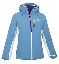 Halti Sae Jacket, Blue Atoll/White/Bright Violet