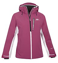 Halti Sae Jacket, Fuchsia Purple/White/Black