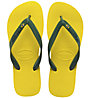 Havaianas Brasil Layers - Zehensandale, Yellow/Green