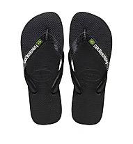 Havaianas Brasil Logo - Flip-Flops - Herren, Black