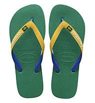 Havaianas Brasil Mix - infradito, Green/Yellow/Blue