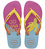 Havaianas Top Cool - infradito - donna, Pink/Yellow