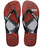 Havaianas Top Marvel - Zehensandale, Red/Black