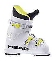Head Raptor 40 - Skischuh - Kinder, White/Yellow/Black