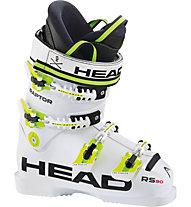 Head Raptor 90RS - Skischuh - Kinder, White/Yellow