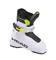 Head Z1 - scarpone da sci alpino - bambino, White/Black