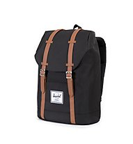 Herschel Retreat - zaino, Black/Tan