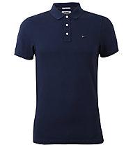 Tommy Jeans Cotton Orginal Flag - Polo - Herren, Blue