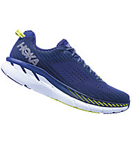 Hoka Clifton 5 - Laufschuhe Neutral - Herren, Blue/White