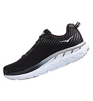 Hoka Clifton 5 W - Laufschuhe Neutral - Damen, Black/White