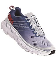 Hoka Clifton 6 - scarpe running neutre - donna, Blue/White