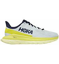 Hoka One One Mach 4 - scarpe running performance - donna, White/Yellow/Blue