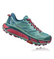 Hoka One One Mafate Speed 2 W - scarpe trail running - donna, Light Blue/Pink
