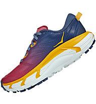 Hoka One One Mafate Speed 3 - Traulrunningschuhe - Damen, Blue/Red/Yellow